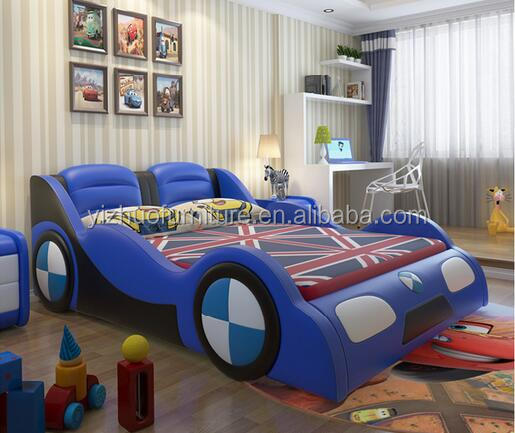 new design modern style queen race car - Wholesale Bed Frames