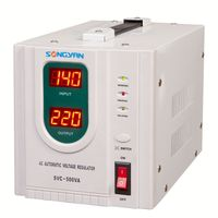 Svc Servo Motor Contral Voltage Stabilizer, air compressor regulator, 5000w boat marine stabilizers/regulators
