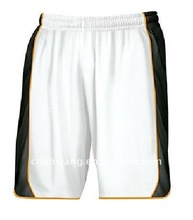 Latest design cheap polyester dry fit basketball shorts