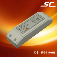 20w 20v 900ma pwm constant current 0-10v waterproof electronic led driver with CE, ROHS
