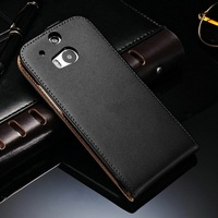 2014 Best Selling sencond skin leather Mobile Phone Case for HTC One M8 flip style