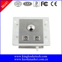 25mm Panel-mount Metal Trackball For Industrial Pointing Device