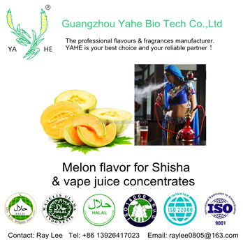 High concentration melon flavor concentrates for making shisha and diy vape flavour liquid