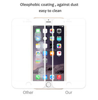 Anti-scratch screen protector film for iphone 6 full size tempered glass screen protector for iphone 6s