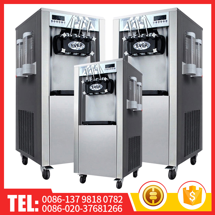 Topkat Commercial Automatic Soft 56L Stainless Steel Ice Cream Machine