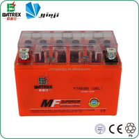 Best Price Gel Battery 12v 9ah, High Quality Motorcycle Battery For YTX9-BS