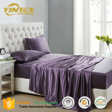 Fashionable 19MM Natural Mulberry Silk fabric Bedding Sets