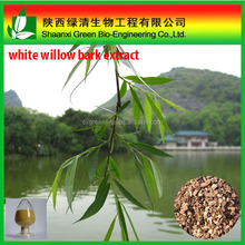 GMP Factory Supply Salix alba extract, White willow bark extract, Salicin 98%