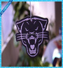 tigers shape hanging paper car air freshener card