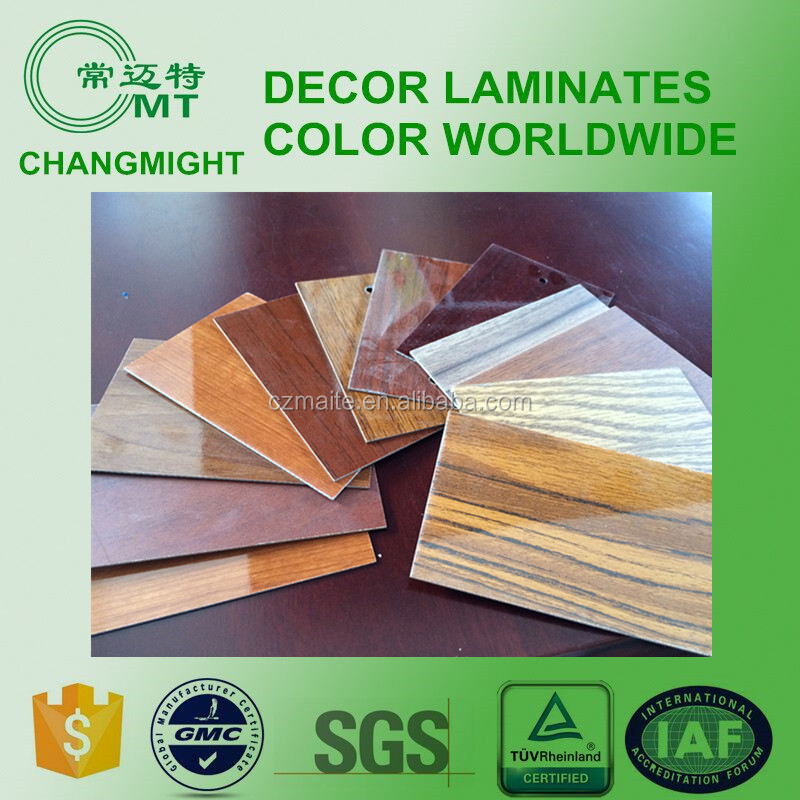 Hot selling wood grain surface finishing compact hpl /high pressure laminate for wholesales