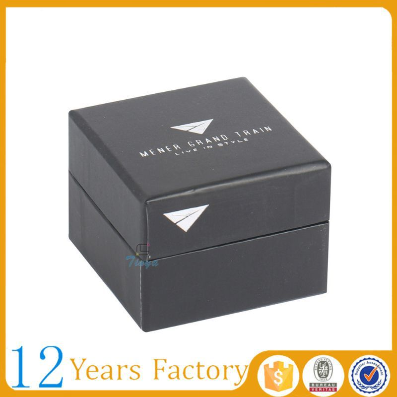 Handmade rigid paper ring boxes jewellery