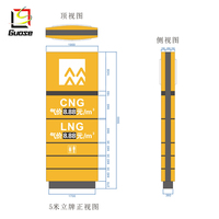 outdoor led display cng home filling station