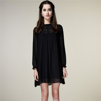 2014 new spring and summer long-sleeved dress,nepal clothing wholesale