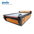 large format automatic feeding cutting fabric laser cutting machine price DW1626 with CCD camera