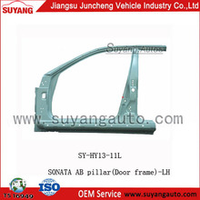 AUTO AB Pillar (Door Frame) -Left for HYUNDAI SONATA SUYANG car body parts name