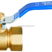 Female Brass Ball Valve With Steel