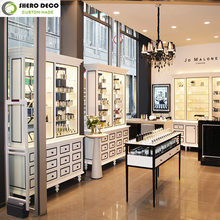 Fashionable classic design modern high-end makeup store furniture and cosmetic display furniture