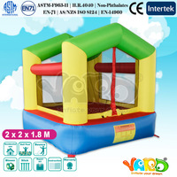 YARD Small Indoor Residential Home Use Inflatable Castle Bouncer for Kids