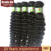 Wholesale tangle free different types of curly weave hair