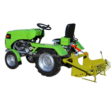Agricultural 12hp 2WD Power mini tractor price list for hot sale