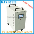 KAYO PS3215B 1.5KW 3KWSolar system inverter 1.5 KW, Polymer Lithium battery 3kwh,home household off grid solar power system