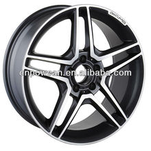 18 inch 19 inch PCD 5X120 Machined Front and rear Replica aluminum alloy wheel rims