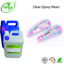 Clear Epoxy Resin Glue Two Parts Adhesives crystal soft glue for doming
