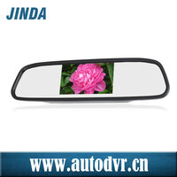 Good Quality 4.3 inch rearview mirror motorcycle/taxi, car, mini car Parking Assistance Type