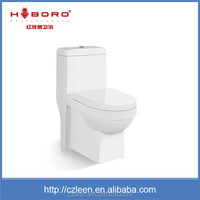 Porcelain elegant sanitary ware one piece cheap hotel new model toilet