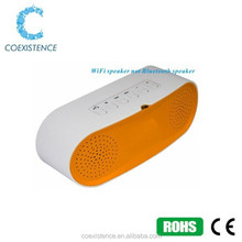 china discount computer speakers ,smart phone speakers support Airplay/Qplay/DLAN protocols