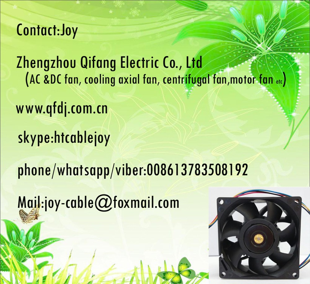 DC12V 0.45A 8025 80mm 80x80x25mm 4pin Cooling axial Fan