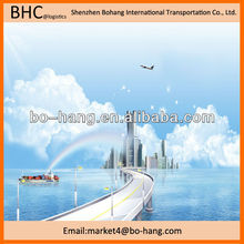 professional air freight vs sea freight from China