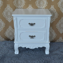 Factory wholesale white painting cabinet wooden furnitures of house