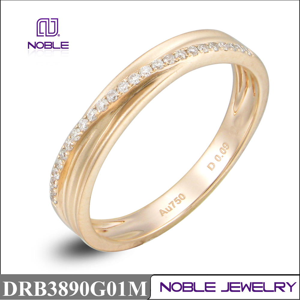 Hot sale 18K rose gold wedding jewellery