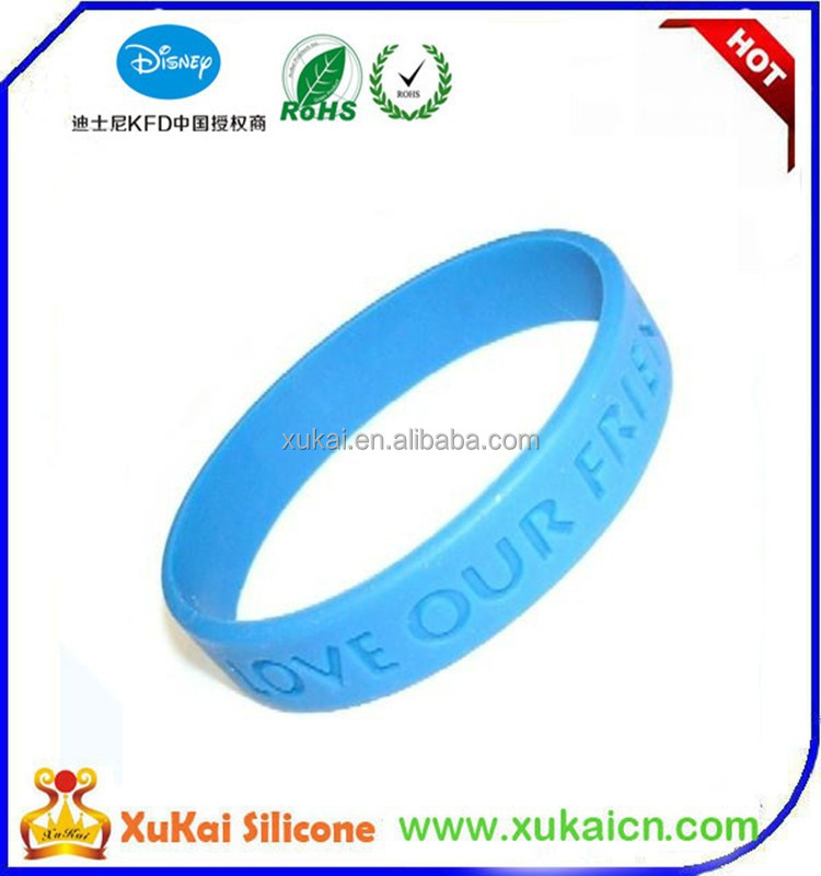 customize shape Gahna bracelets silicone wristbands