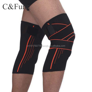 New product sports Elasticated knee brace weight lifting Knee Wrap