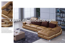 Home furniture living room modern imported leather sofa