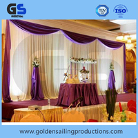 evening party pipe adnd drape for sale
