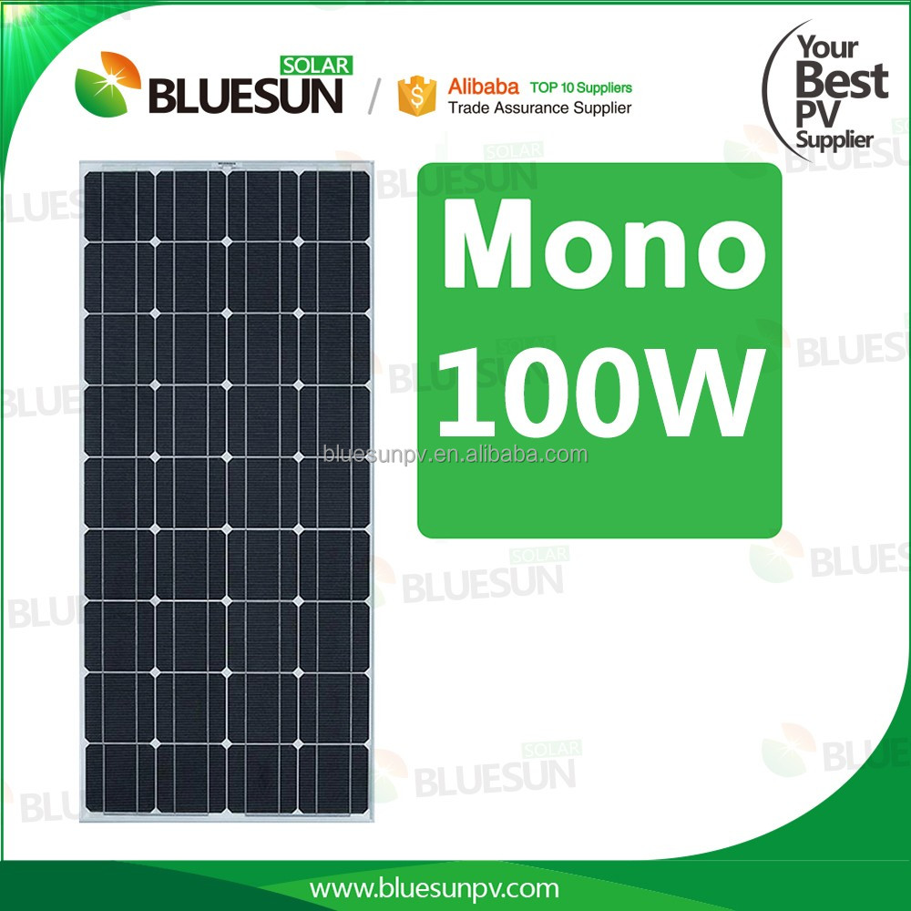 High efficiency low price mini solar panel 100w with good price per watt