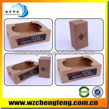 corrugated packaging box with printing
