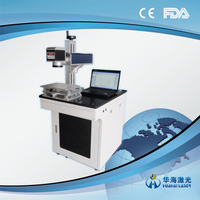 Hot sale barcode watch belt buckle two-dimension code laser marking machine special for Australia