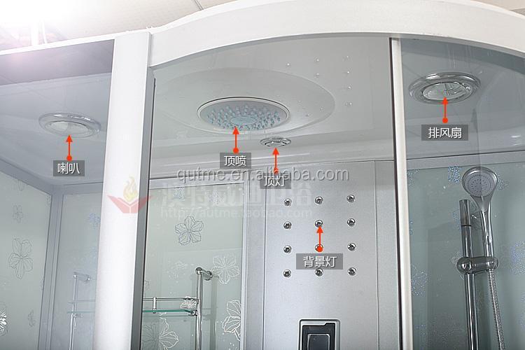 Badewanne Mit Dusche Komplett : dampf komplett geschlossenen glas dusche mit tiefe badewanne-Dusche