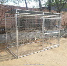 Direct factory cheap sale large outdoor dog kennel fence panel /chain link fence dog kennel /galvanized weld mesh dog kennel