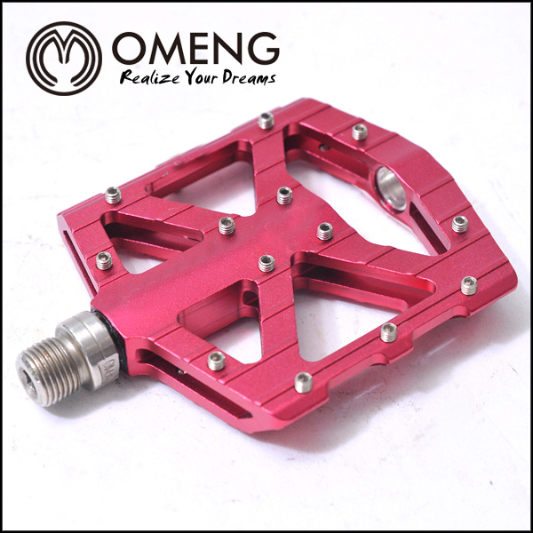 BMX Racing Colored Anodizing Aluminum Mountain Bicycle Folding Pedals