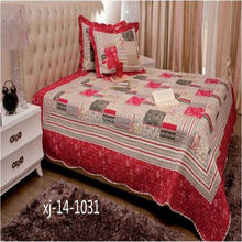 High end attractive style comfortable thin chinese silk comforter bedding set