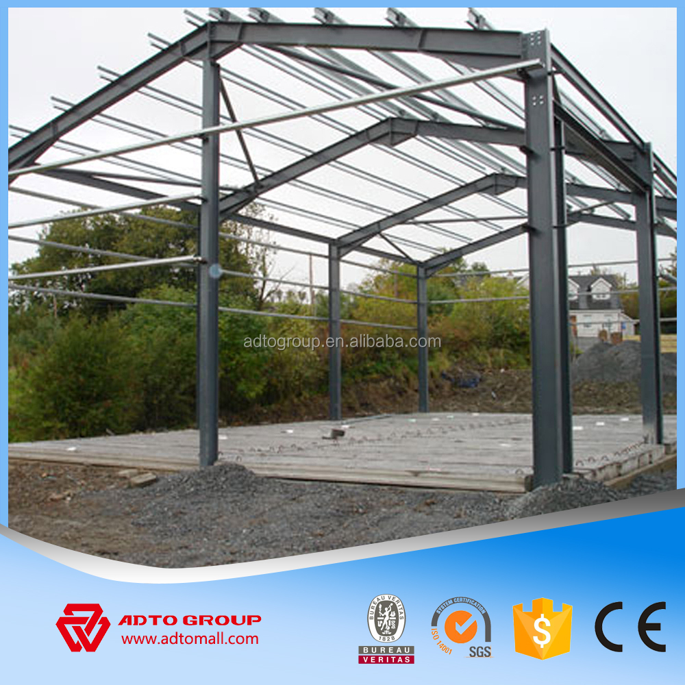 ADTO Steel Structure Warehouse Drawings,Two Story Prefab Storage House,Light Design Iron Metal Beam Column Materials For Sale