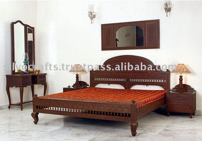 Carved Teak Bed Buy Carved Bedroom SetCarved Bedroom Furniture