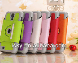 Hot-selling Smart Leather Flip Case With 360 Stand for Samsung Galaxy S4 S IV SIV S 4 Iv Gt-i9500
