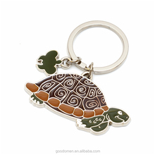 Promotional gift cheap custom fashion keychain / metal animal key chain