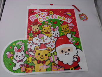 Giant santa gift bags christmas sacks for kids to personalise